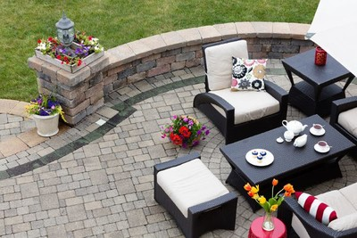 Patio in Secaucus New Jersey