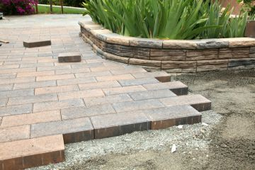 Agolli Construction LLC Installs Pavers in Allwood